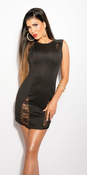 Sexy KouCla Etui-Kleid mit Spitze