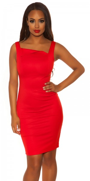 Sexy KouCla Träger Etui Kleid