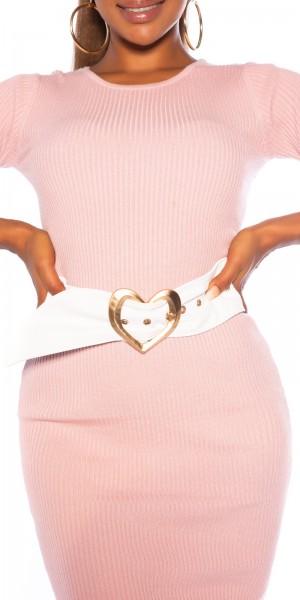 Sexy Gürtel mit Herz Schnalle