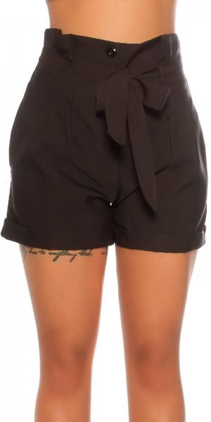Sexy Highwaist Shorts mit Gürtel