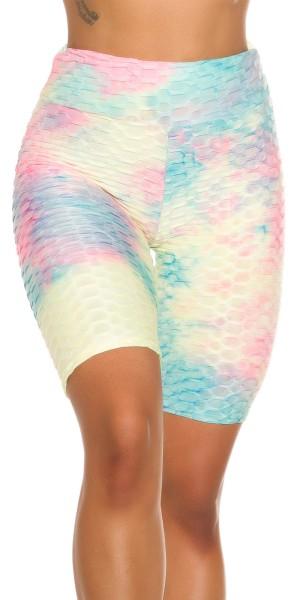 Sexy Bunte Push-Up Shorts