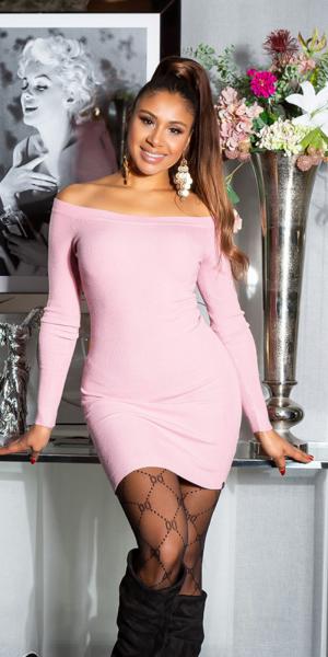 Sexy KouCla Feinstrick Kleid