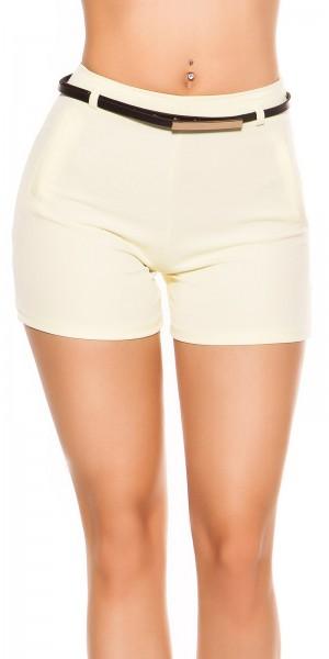 Sexy Shorts mit Gürtel