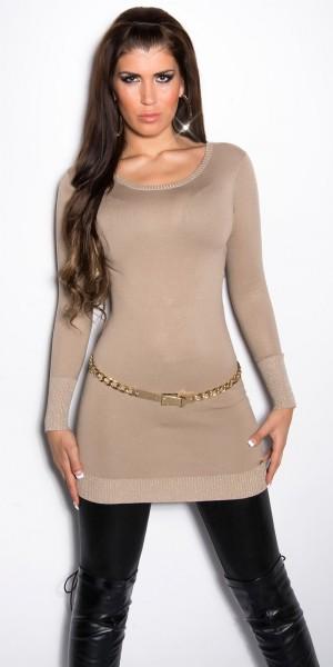 Sexy KouCla Pullover mit Schnürung am Rücken