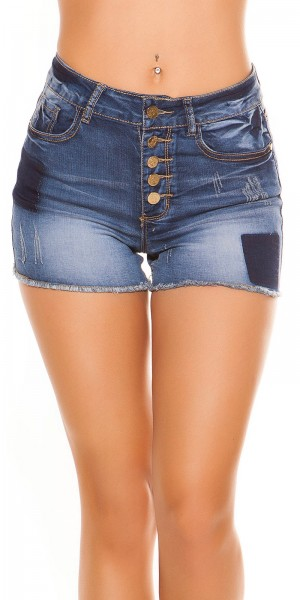 Trendy KouCla HighWaist Hotpants Used look