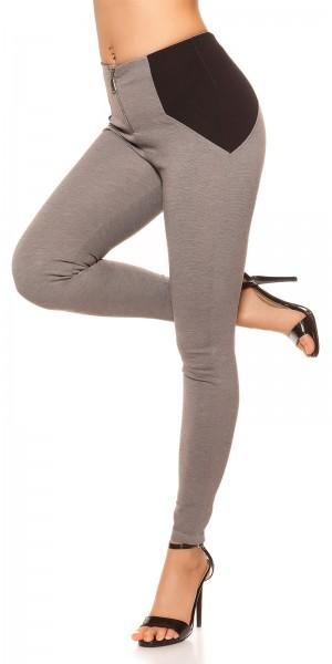 Sexy Highwaist Leggings im Shapelook mit Zip