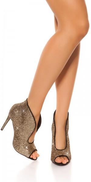 Sexy Glitzer High Heels