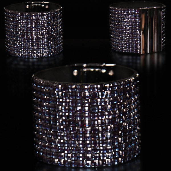 Sexy Glamour-Armband im Strass-Look