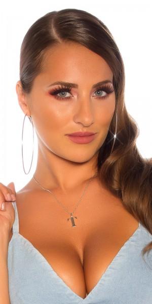 Sexy Buchstaben Halskette  T