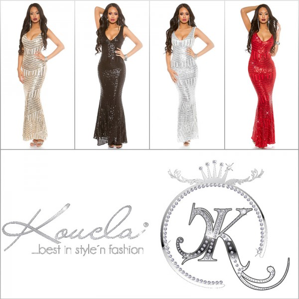 Red Carpet Look! Sexy KouCla Gala-Kleid