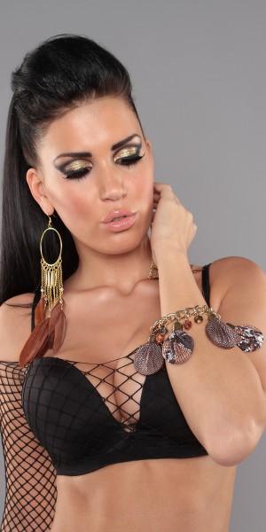 Trendy Armband mit Perlen